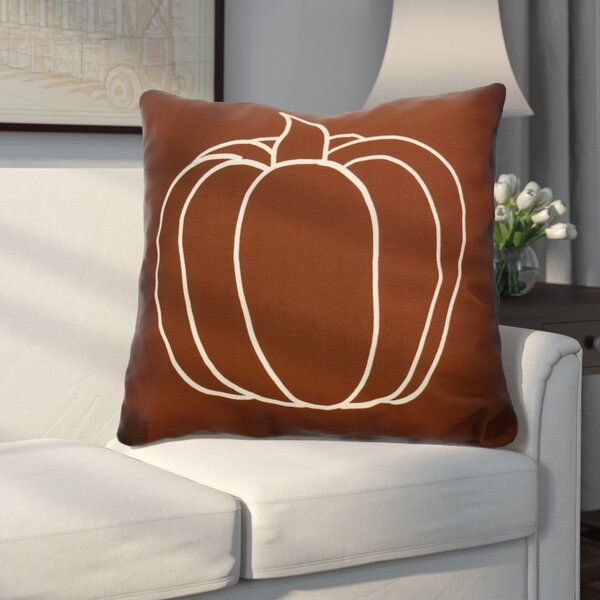 Miller Pumpkin Pie Geometric Euro Pillow by Alcott Hill