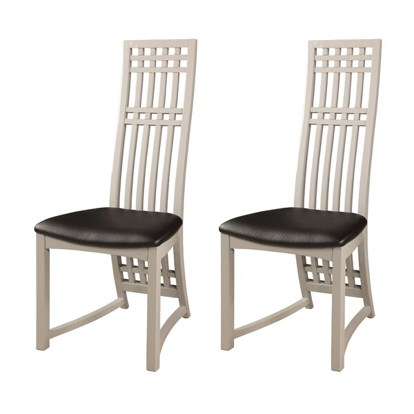 Alfort Upholstered Dining Chair (Set of 2) by Ebern Designs Ebern Designs