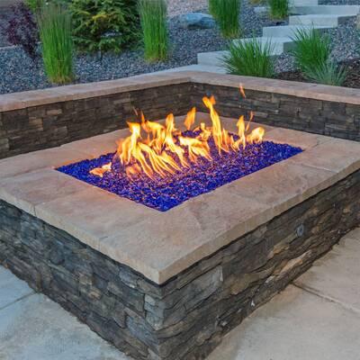 Dot Fire Pit Glass - American Fireglass Fire Pit Glass & Reviews Wayfair