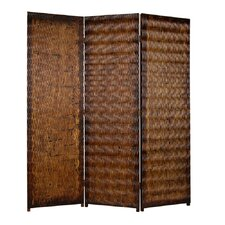 Albata 72 x 63 3 Panel Room Divider by Screen Gems