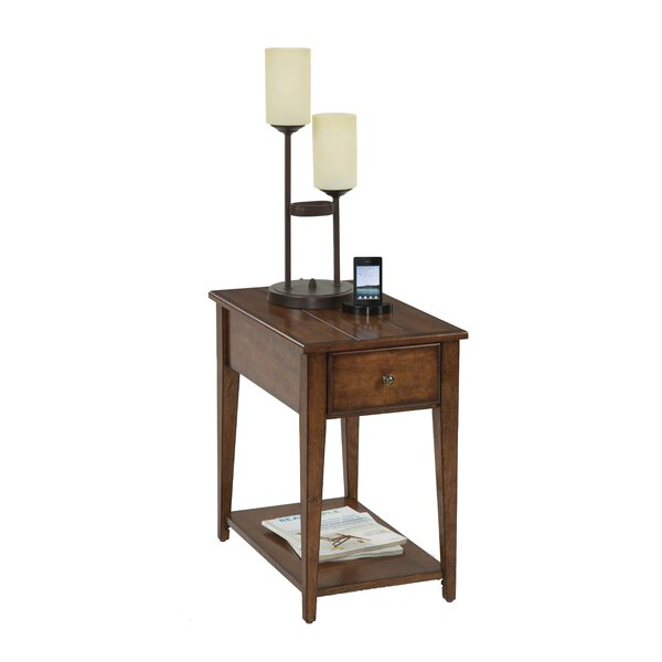 Vandalia Chairside Table by Alcott Hill