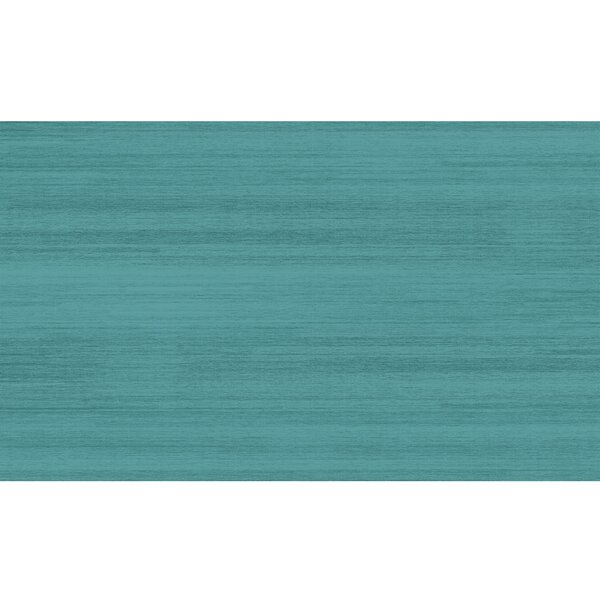 Solid Textured Ocean Blue Indoor/Outdoor Area Rug by Ruggable