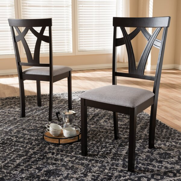 Feltner Solid Wood Dining Chair (Set of 2) by Winston Porter