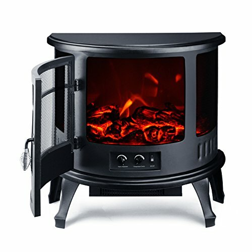 Hagen 1500W Free Standing Electric Fireplace by Winston Porter