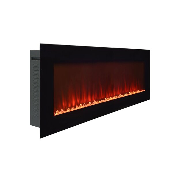 Beller Wall Mounted Electric Fireplace by Paramount Paramount