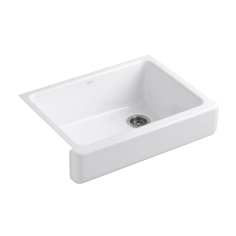 whitehaven self trimming 30   x 22   farmhouse kitchen sink k 6486 02033 kohler whitehaven self trimming 30   x 22   farmhouse      rh   wayfair com