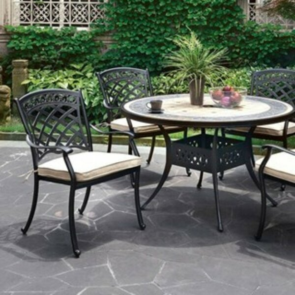 Capone Metal Dining Table by Darby Home Co