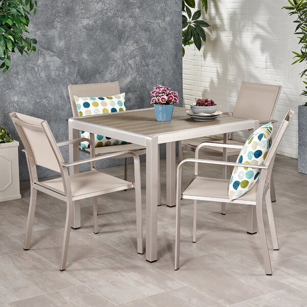 Simone 4 Piece Dining Set by Ebern Designs