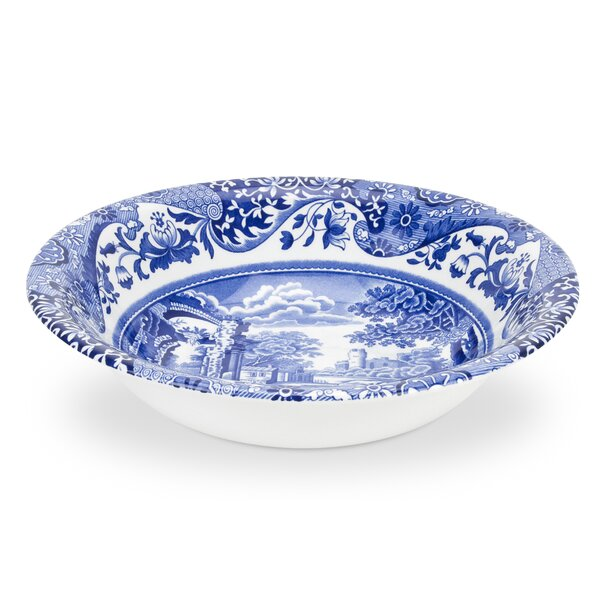 Blue Italian 6.5 Cereal Bowl (Set of 4) by Spode