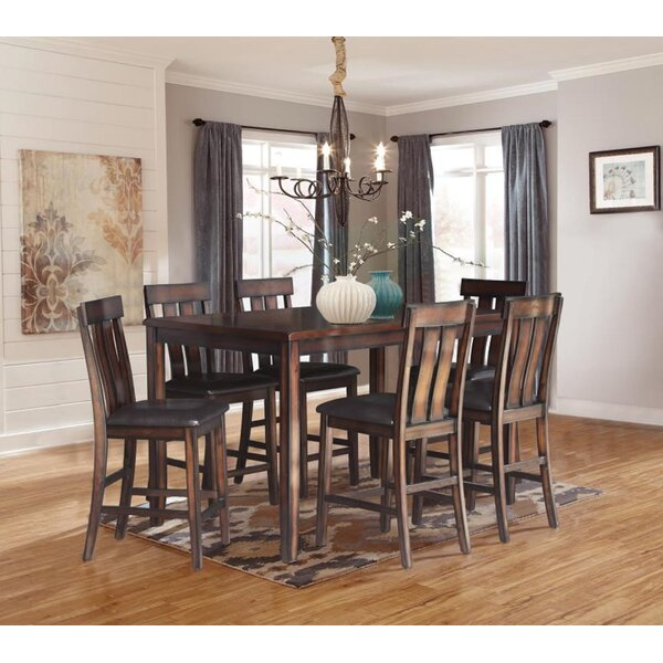 Widman 7 Piece Pub Table Set by Loon Peak