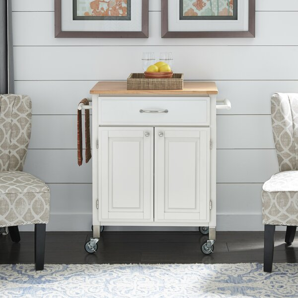 Hamilton Kitchen Cart by Charlton Home