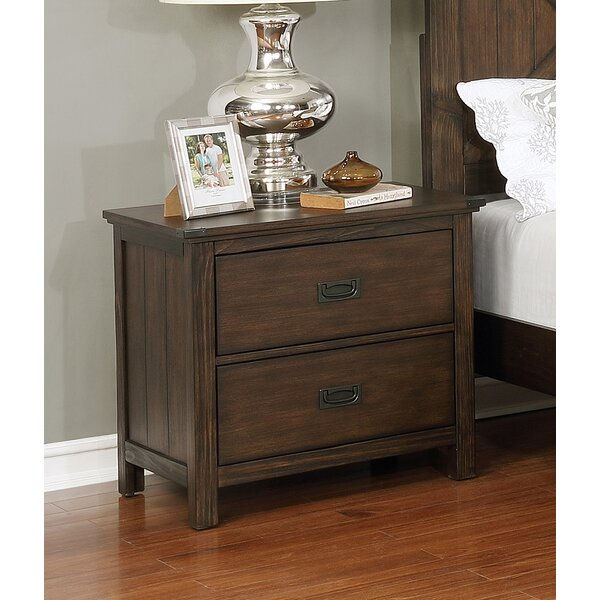 Bodmin 2 Drawer Nightstand by Gracie Oaks