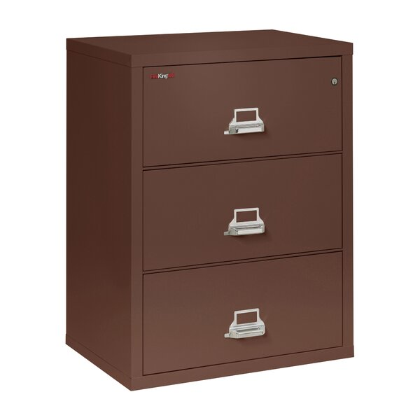 Fireproof 3-Drawer Lateral Filing Cabinet