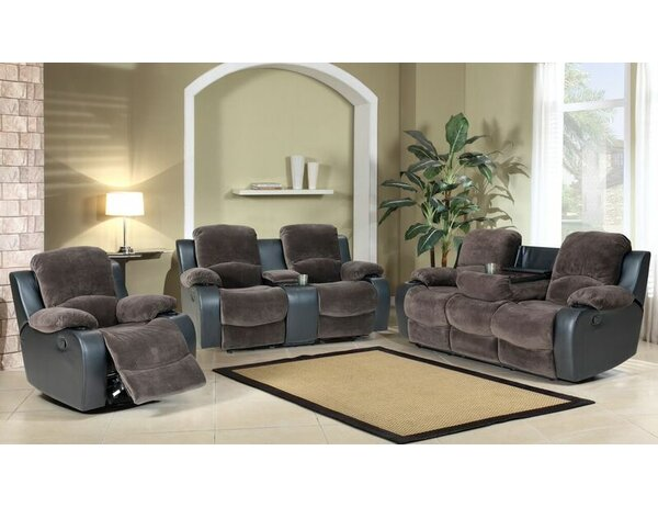 Santiago Reclining 3 Piece Living Room Set by Beverly Fine Furniture