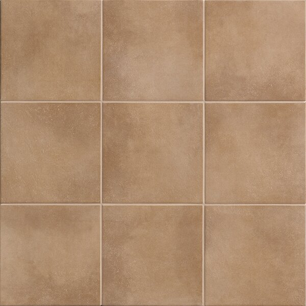 Poetic License 6 x 6 Porcelain Field Tile in Rum by PIXL