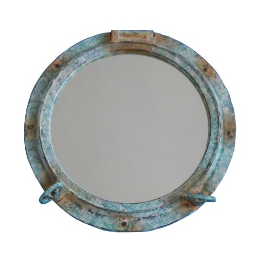 Titanic Shipwrecked Decorative Porthole Wall Mirror by Handcrafted Nautical Decor