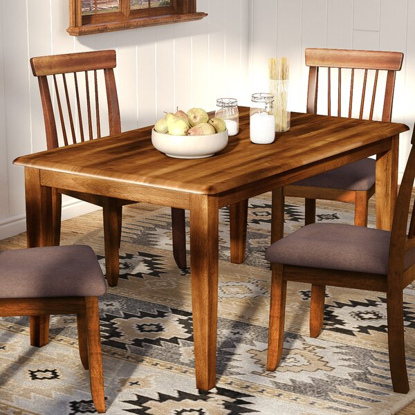 Modern Solange Dining Table By Bay Isle Home Sale