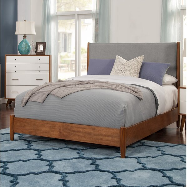 Parocela Upholstered Standard Bed by Modern Rustic Interiors