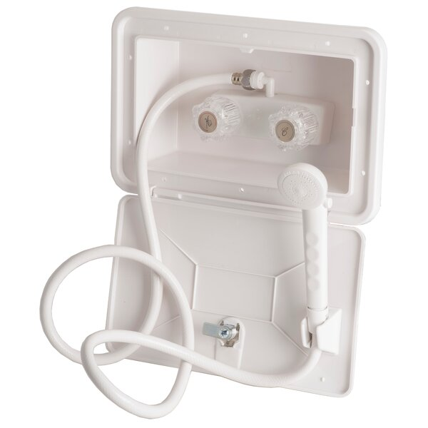 RV/Mobile Home Exterior Shower Faucet with Valve by Laguna Brass