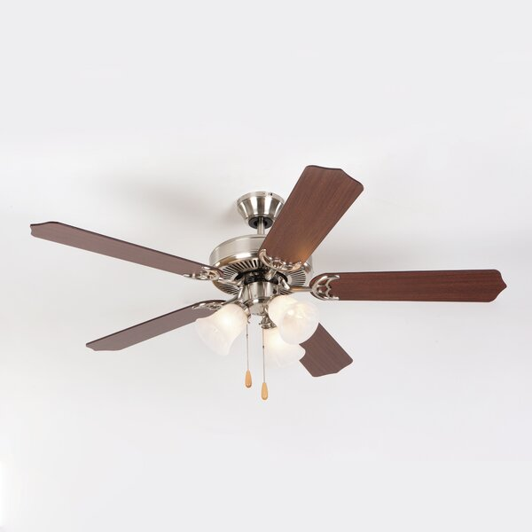 Bank 52 5-Blades Ceiling Fan by Charlton Home