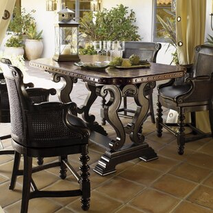 Kingstown Sienna Bistro Dining Table. By Tommy Bahama Home