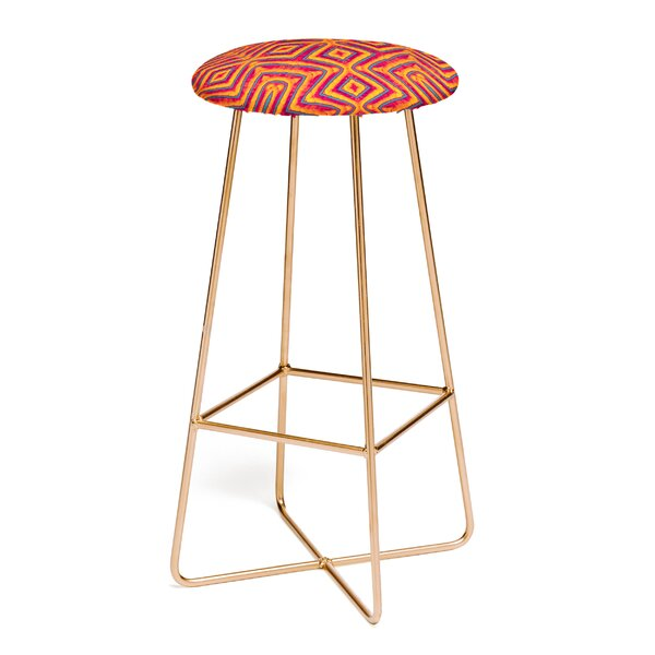 Wagner Campelo Sanchezia 30 Bar Stool by East Urban Home