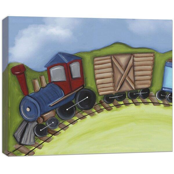 Transportation Engine Canvas Art by Doodlefish