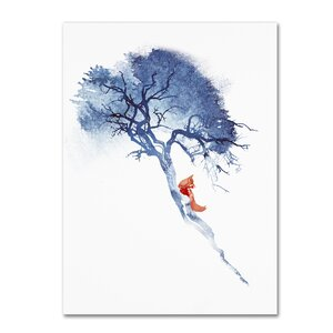 There's No Way Back by Robert Farkas Graphic Art on Wrapped Canvas by Trademark Fine Art