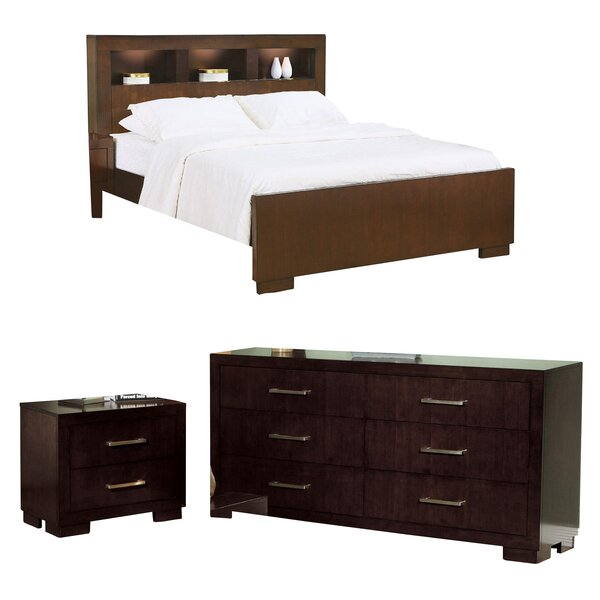 Hamler California King Platform Configurable Bedroom Set by Ebern Designs
