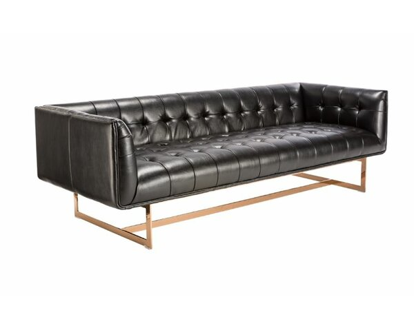 Doggett Chesterfield Sofa by Everly Quinn