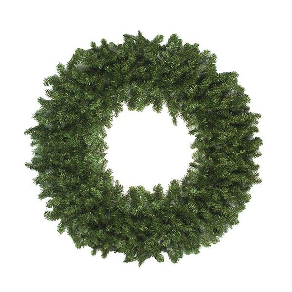 144 Artificial Canadian Pine Christmas Wreath by Vickerman