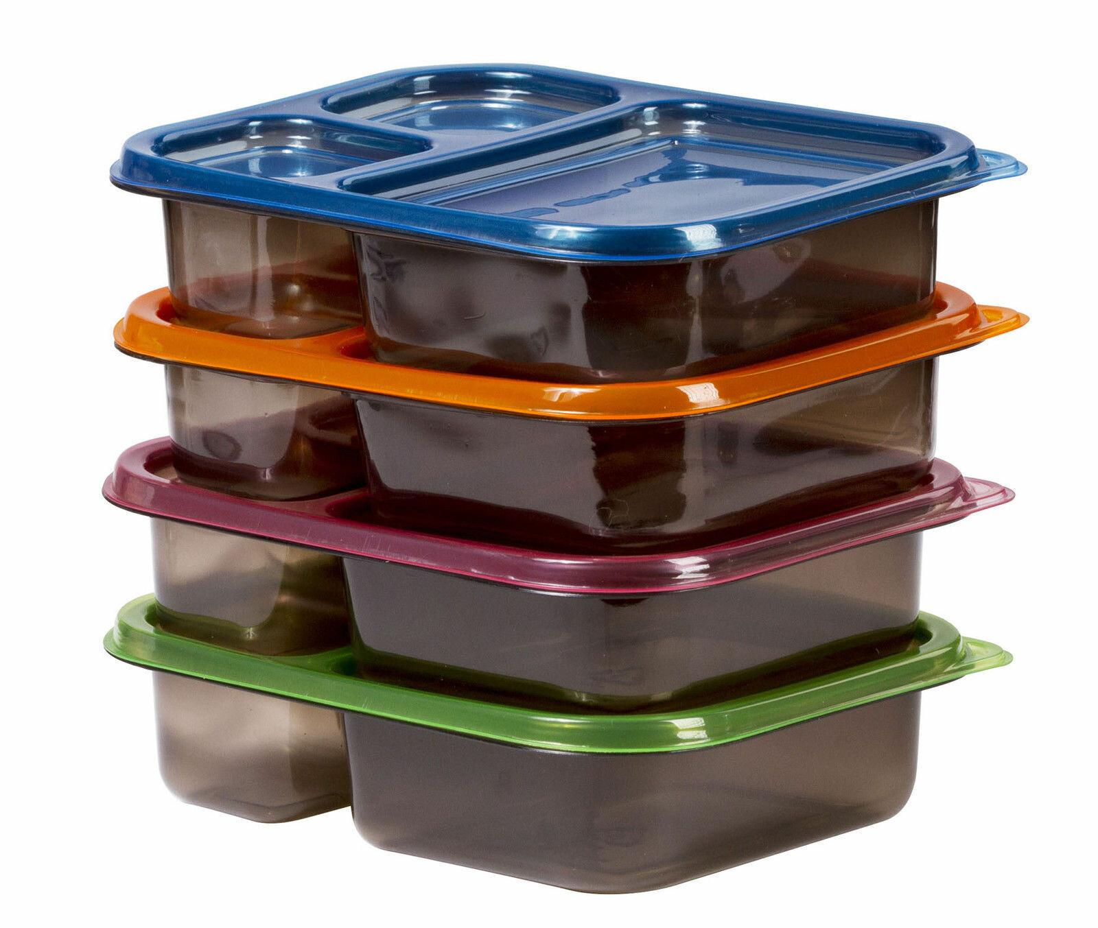 toutes tailles Conteneurs alimentaires baignoires en plastique clair avec couvercles micro-ondes à emporter