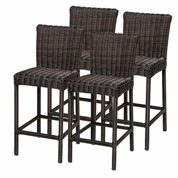 Venice 30 Patio Bar Stool (Set of 4) by TK Classics