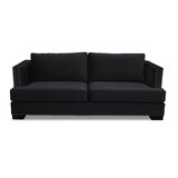 Calais Microfiber 94 Square Arm Sofa by South Cone Home