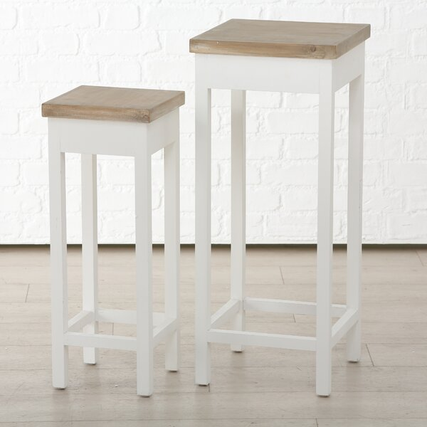 Tynes 2 Piece End Table Set By August Grove