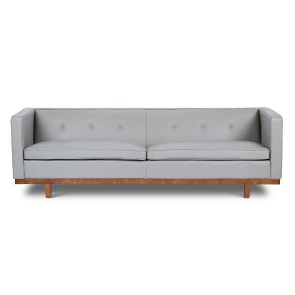 Correia Leather Sofa by Foundry Select