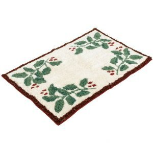 Holiday Nouveau Bath Rug by Lenox