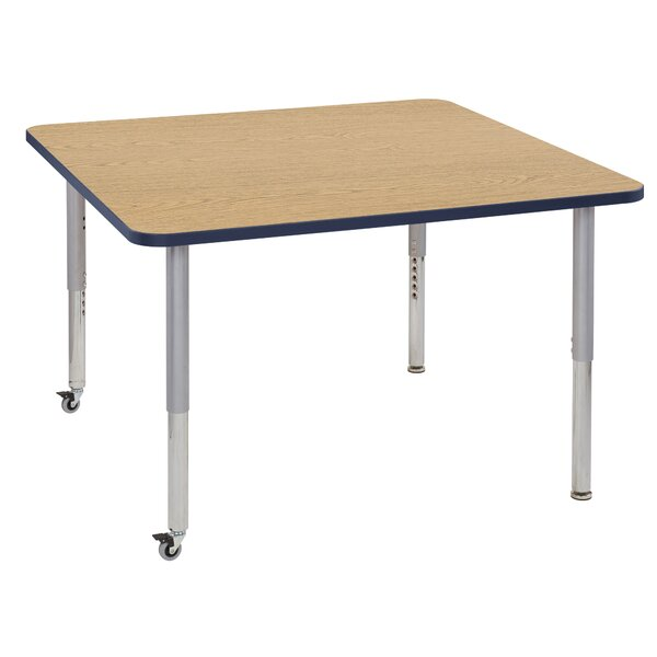 Contour Thermo-Fused Adjustable 48 Square Activity Table by ECR4kids
