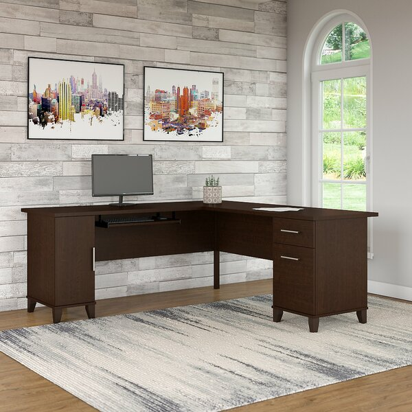 Somerset L-Shaped Executive Desk by Red Barrel Studio