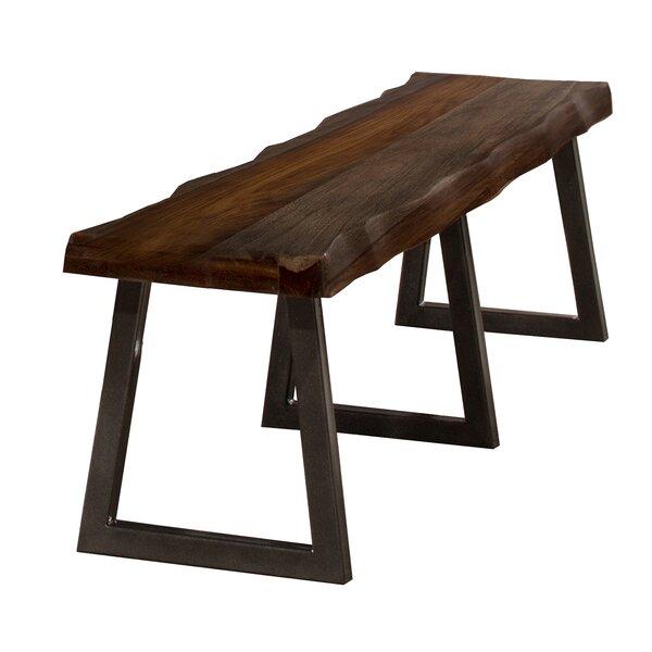 Thomasson Metal/Wood Bench by Mistana Mistana