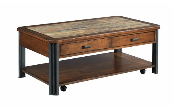 Juarez Coffee Table with Storage by Union Rustic