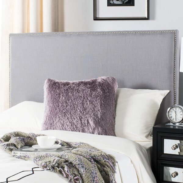 Farringdon Queen Upholstered Panel Headboard by House of Hampton