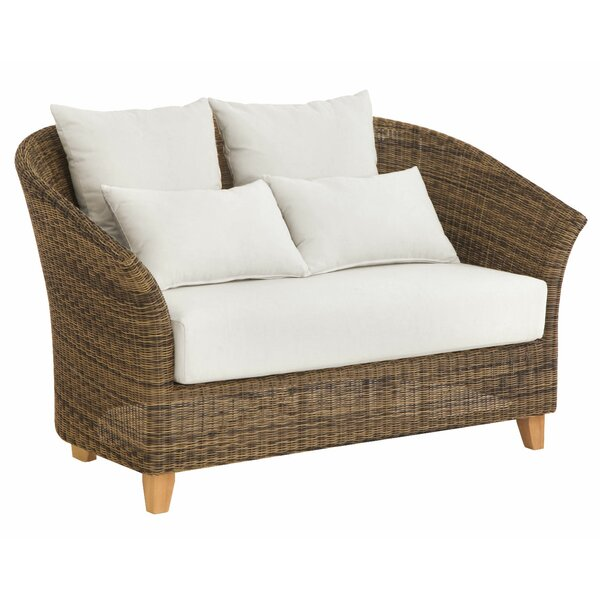 Todd Deep Seating Loveseat by Bayou Breeze