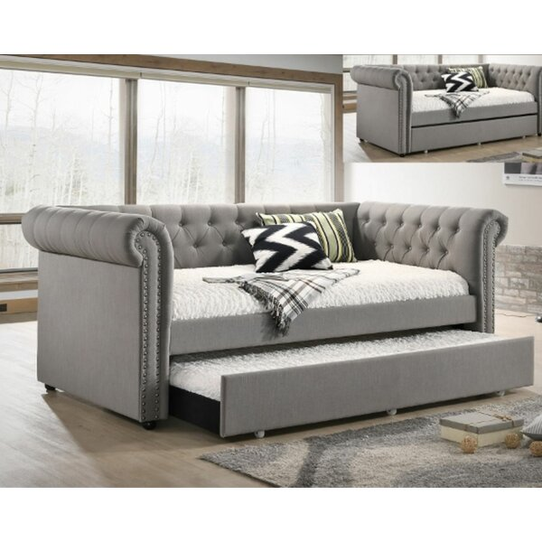 Vesna Twin Daybed With Trundle By Red Barrel Studio