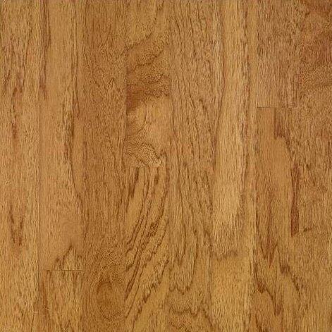 5 Solid Hickory Hardwood Flooring in Smokey Topaz by Bruce Flooring