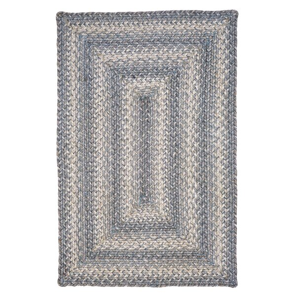 Pewter Gray Area Rug by Homespice Decor