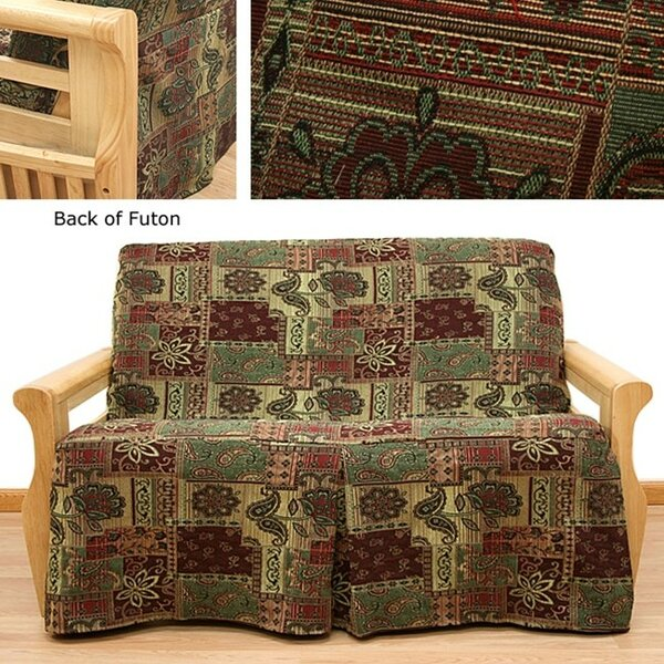 Arabian Box Cushion Futon Slipcover by Easy Fit