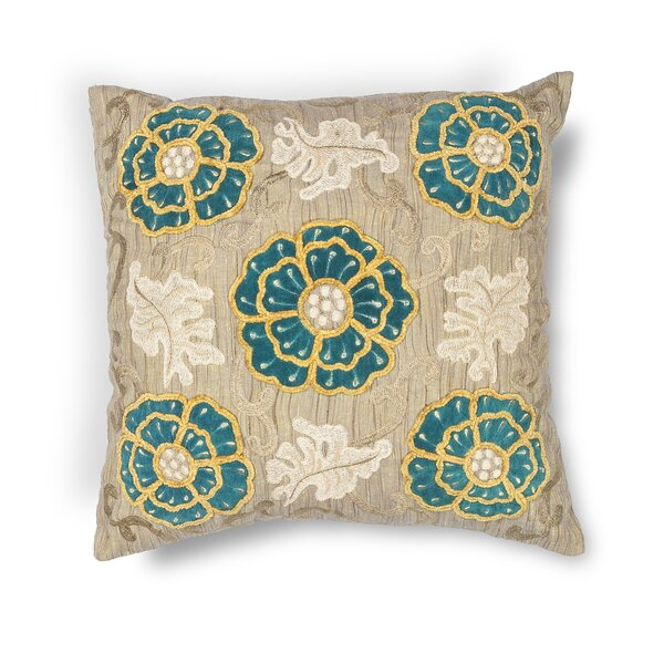 Picardy Throw Pillow by Rosecliff Heights