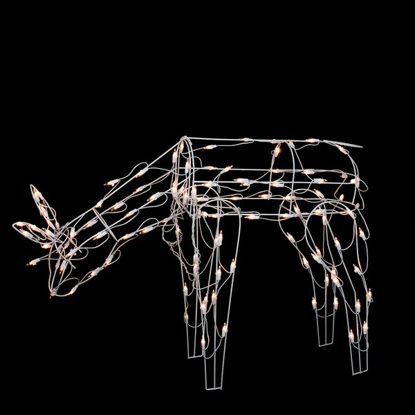 Feeding Reindeer Lighted Christmas Yard Art Decoration by Northlight Seasonal