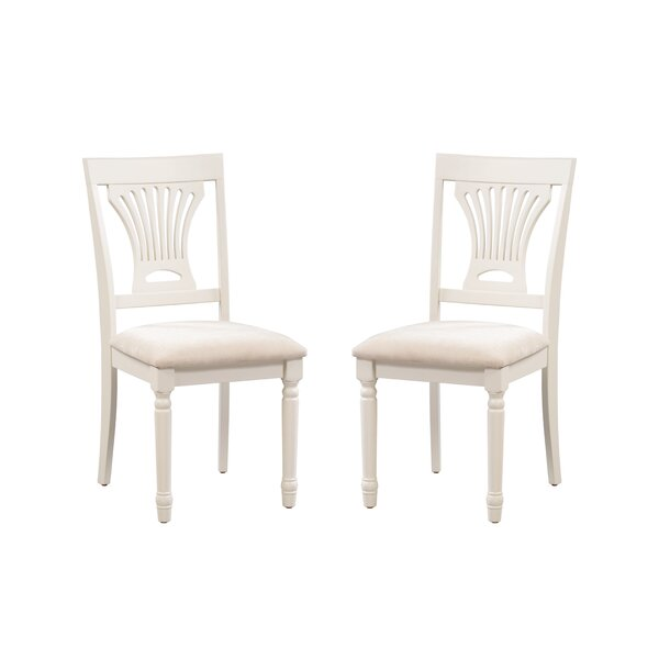Whittaker Upholstered Dining Chair (Set of 2) by Rosecliff Heights Rosecliff Heights